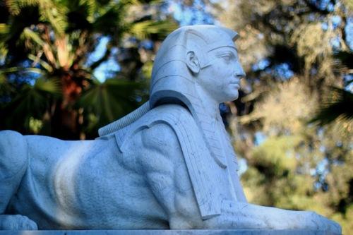 Stanford Mausoleum Sphinx