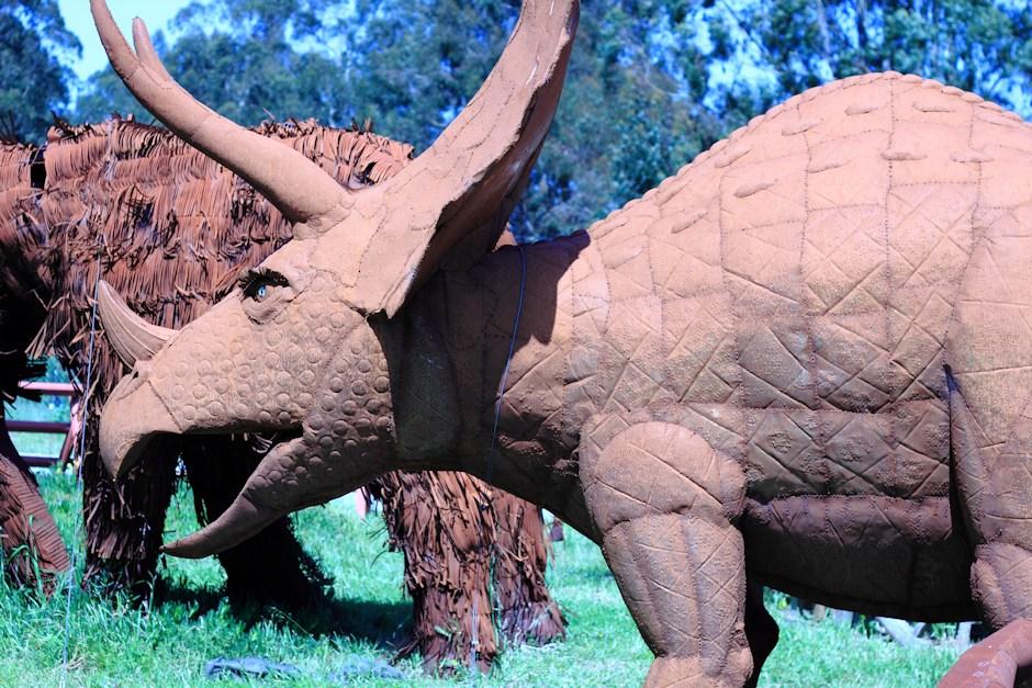 Jurassic Art Triceratops