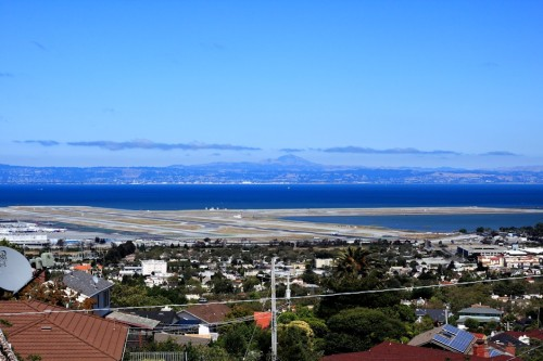 San Francisco Bay And Airport View