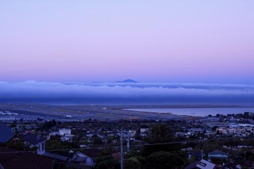 San Francisco Bay With Fog