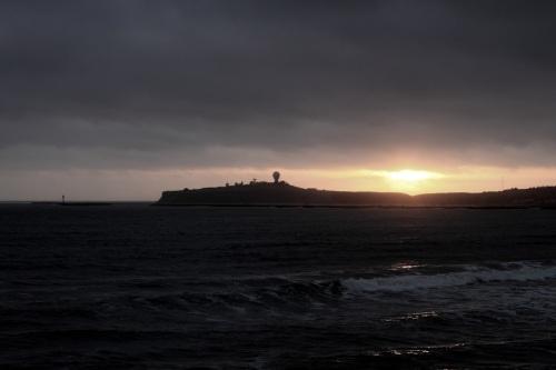 Winter Sunset In Half Moon Bay
