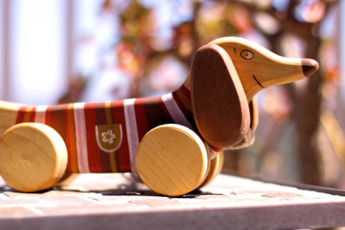 Wooden Toy Smile