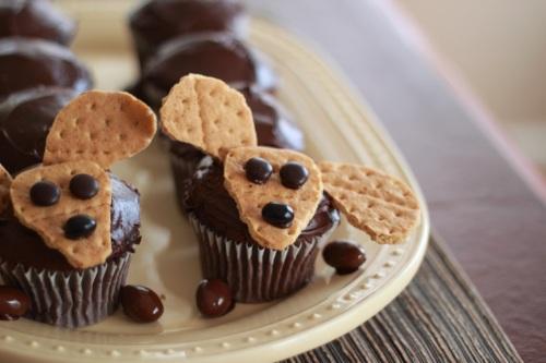 Weiner Dog Cupcake