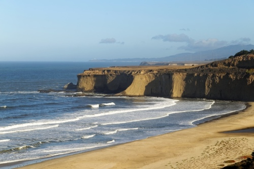 The Cliffs Of Half Moon Bay