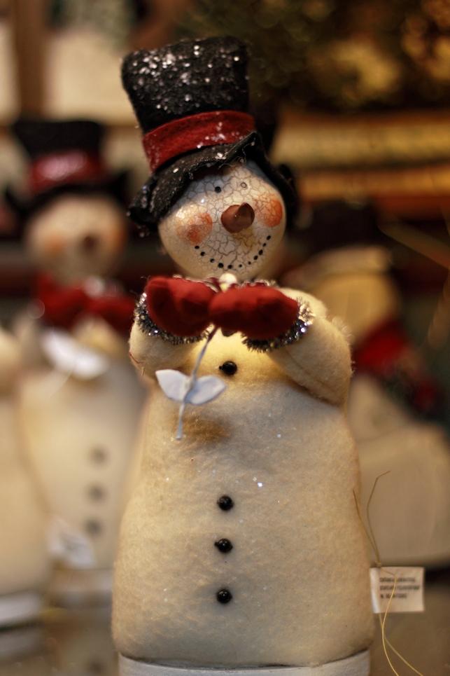 Snowman On A Shelf